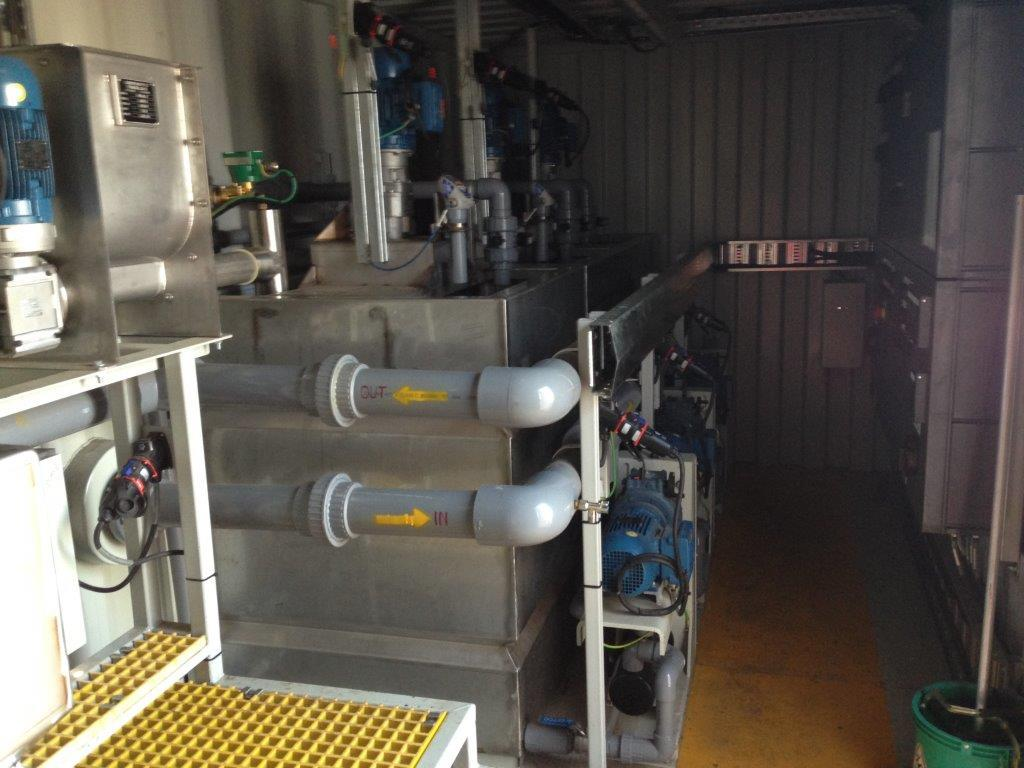 Fully Automatic Dewatering/Floc Unit